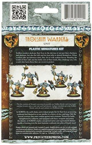 Privateer Press - Hordes - Trollblood: Trollkin Warders Model Kit 4
