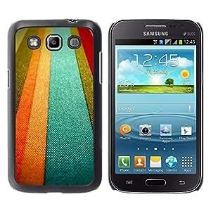 Be Good Phone Accessory // Dura Cáscara cubierta Protectora Caso Carcasa Funda de Protección para Samsung Galaxy Win I8550 I8552 Grand Quattro // Textile Texture Orange Pastel Tones