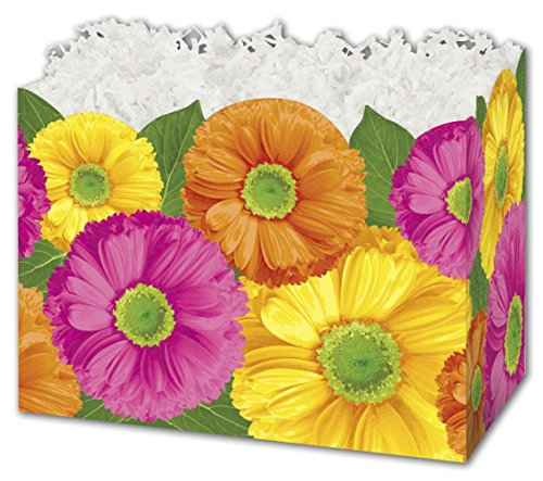 """Gerber Daisies Gift Basket Boxes, 6 3/4 x 4 x 5"""""""