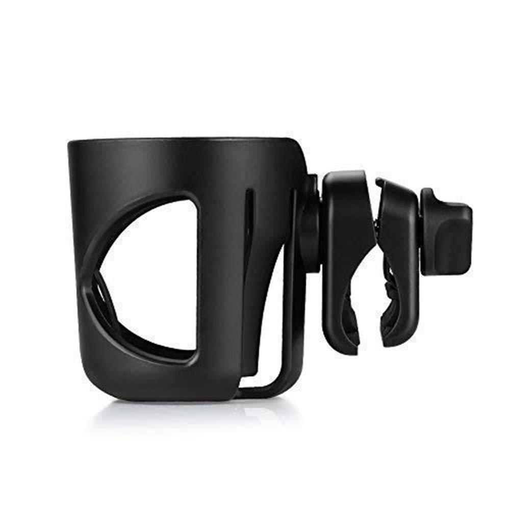 MEISHENG Universal Cup Holder by, Stroller Cup Holder, Large Caliber Designed Cup Holder, 360 Degrees Universal Rotation Cup Drink Holder