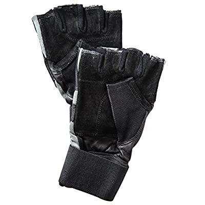ACHIEVE FIT Weightlifting Gloves - Leather Palm for Fitness savvy Men & Women, Firm Grip, Control & Comfort for Weight lifting, Crossfit Training, Gym Workout - Standard or With Wrist Wraps (PAIR)