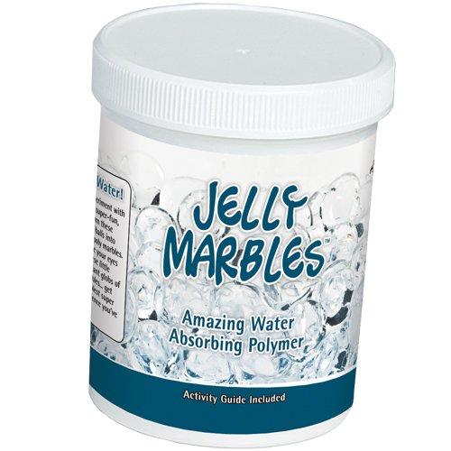Jelly Marbles - Clear Spheres (50 gram jar)