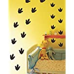 Mozamy Creative Dinosaur Wall Decals