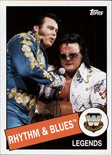 - 2015 Topps Heritage WWE #41 Rhythm amp; Blues