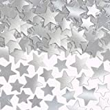 Limited Time Offer on Amscan Star Confetti (Super Value Pack), 5 oz., Silver.