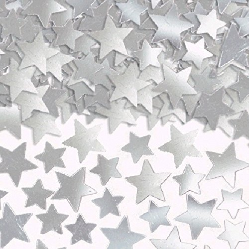 Football Value Pack - Amscan Star Confetti (Super Value Pack), 5 oz., Silver