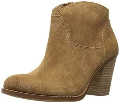 Lucky Women's Lk-Eller Ankle Bootie, Honey, 6 M US