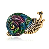 ptk12 Exquisite Animal Brooches Pin Snails Butterfly Bee Frog Fish Corsage Costume Jewelry Accessories