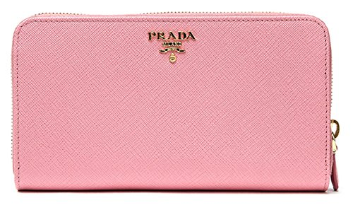 Prada Leather Long Wallet - 1