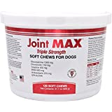 Joint MAX Triple Strength - Vitamins, Minerals, Antioxidants - Maximum Joint Health Supplement for Dogs - 120 Soft Chews