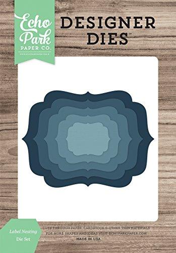 Echo Park Paper Company Label Nesting Die Set