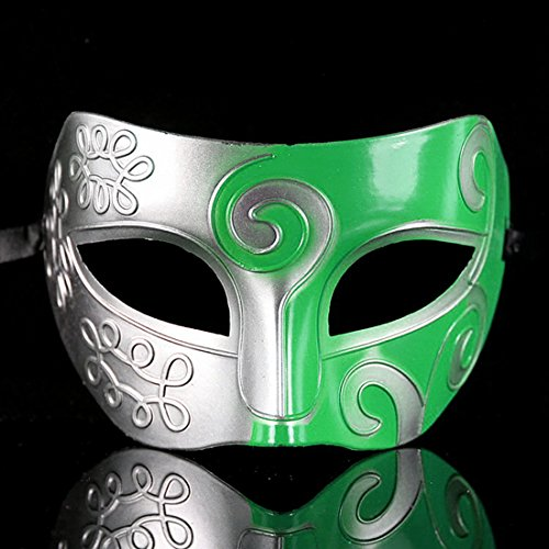 OGYA Baron Half Surface Spray Paint The Prince Dance Performance Mask Mask Antique Ancient Greek and Roman (Used Custom Dance Costumes)