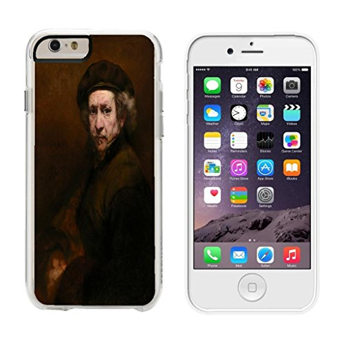 Rembrandt Van Rijn Self-Portrait - iPhone 6 Plus Clear Cover Case