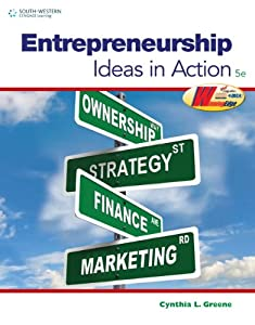 Workbook for Greene's Entrepreneurship: Ideas in Action, 5th by South-Western Educational Pub