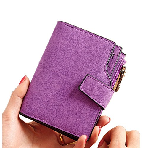 Informal rabbit de de para para Gran Mujeres Color Monedero Embrague Purple Lovely Purple Mujeres Monedero Capacidad CaqIaw