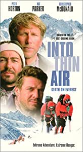 Amazon Com Into Thin Air Death On Everest Vhs Peter