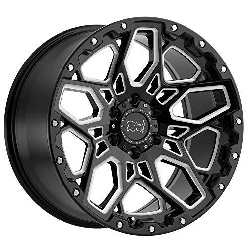 BLACK RHINO Rim Shrapnel 20X9.5 5x150 Offset 12 Gloss Black
