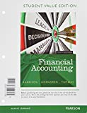 Financial Accounting, Student Value Edition Plus NEW MyAccountingLab with Pearson EText -- Access Card Package, Harrison, Walter T., Jr. and Horngren, Charles T., 013380545X