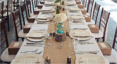 Amazon.com: Burlap Table Runners: Rustic Weddings Or Events 102x15 Inch  Jute Burlap Table Runner For Country Wedding Decorations Bridal Shower Baby  Shower ...