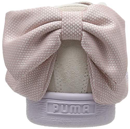 Basse Bow Bianco Scarpe Wn's Hexamesh pale Pink marshmallow Donna Puma Ginnastica Da Suede 4q0w5xHU