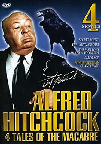 Alfred Hitchcock: 4 Tales of the Macabre - Secret Agent / The Lady Vanishes / The Man Who Knew Too Much / (The Man Who Knew Too Much Dvd)