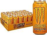 Juice Monster Khaos, Energy Drink, 16 Ounce (Pack of 24)
