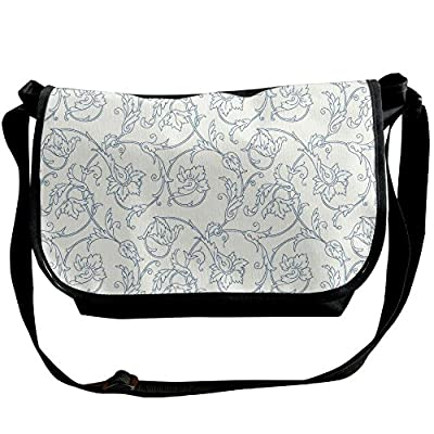 fb681af30d Lovebbag Flower Orchids Bohemian Style Vintage Petals Vines Pattern French  Country Style Crossbody Messenger Bag 60