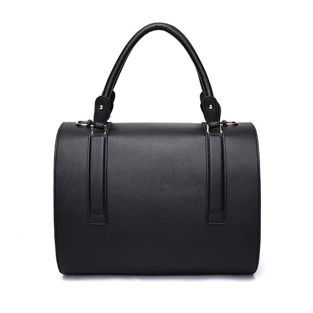 Aoligei PU Breathable Black Portable Dog Suitcase cat cage, 40  28  18cm