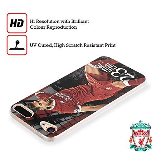 Official Liverpool Football Club Virgil Van Dijk 2017/18 First Team Group 1  Soft Gel Case for Apple iPod Touch 6G 6th Gen