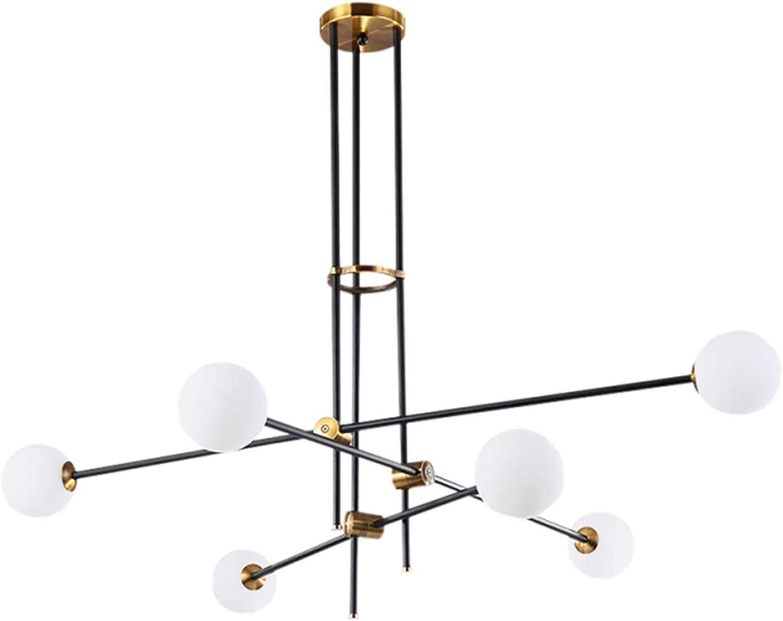 TopJi/ä Industrielle Sputnik Kronleuchter,E27 Modern Loft Vintage Pendellampe Mit Glas Lampenschirm Mit Verstellbar Armen K/üche Esszimmer Wohnzimmer Deckenleuchte Schwarz 8 Flammig