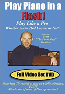 Play Piano in a Flash! Full Video Set DVD