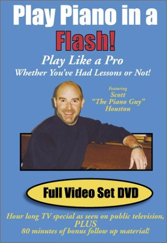 Play Piano in a Flash! Full Video Set DVD by Houston Enterprises