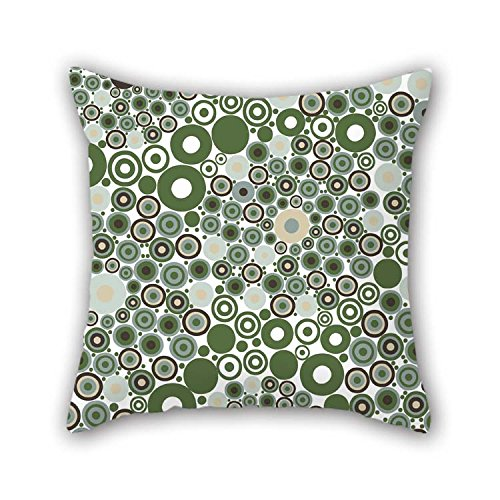 TonyLegner Circle Cushion Covers 20 X 20 Inches / 50 by 50 cm Gift Or Decor for Study Room Couch Kids Girls Her Floor Couples - Two Sides for $<!--$11.99-->