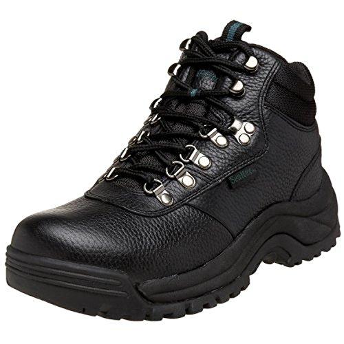 Propet Mens Cliff Walker Boot Nero 8.5 X (3e) E Pacchetto Di Pulitori Oxy