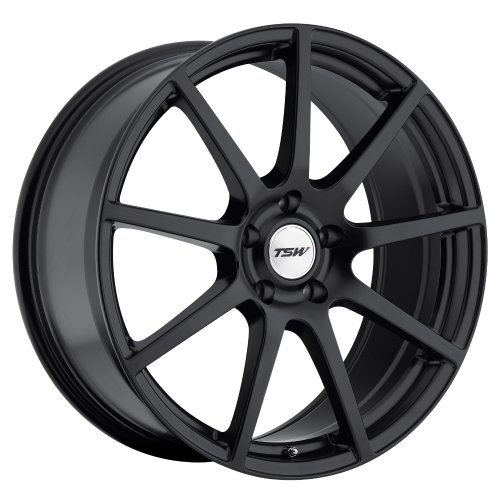 TSW Interlagos Matte Black Wheel (22x10.5