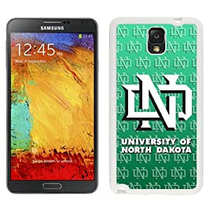 Fashionable And Unique Custom Designed With NCAA Big Sky Conference Football North Dakota 12 Protective Cell Phone Hardshell Cover Case For Samsung Galaxy Note 3 N900A N900V N900P N900T White
