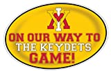 VMI KEYDETS HEADING TO THE GAME-VIRGINIA MILITARY INSTITUTE KEYDETS 11X17 INCH JUMBO CAR MAGNET