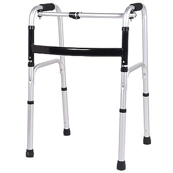 Marco para caminar ultra estrecho con ruedas, andador para adultos ...