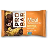ProBar Meal Bar - Peanut Butter Chocolate Chip - Certified Organic - 12 Pack, 3 Ounce