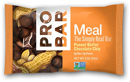 ProBar Repas Bar, Peanut Butter Chocolate Chip, 3 once (Pack de 12)