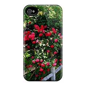 Iphone Cases - Cases Protective For Iphone 6- Red Roses Fence
