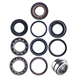 East Lake Axle Rear differential bearing & seal kit compatible with Honda TRX 420 2007 2008 2009 2010 2011-13
