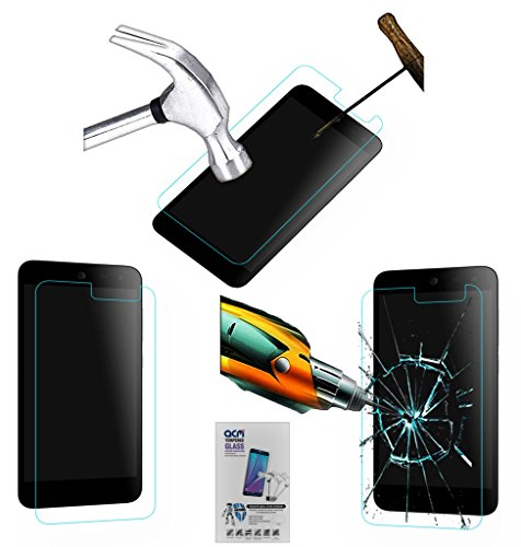 Acm Tempered Glass Screenguard Compatible with Micromax Canvas Nitro 4g E455 Mobile Screen Guard Scratch Protector