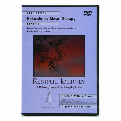 Cedar Lake Restful Journey Relaxation and Music Therapy DVD