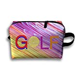 Color 3D Golf Portable Receive Bag Women Pouch Handbag Case