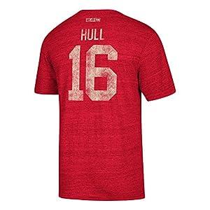 Chicago Blackhawks Retro Bobby Hull Alumni Player CCM Vintage T-Shirt Red