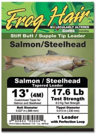 Frog Hair Salmon//Steelhead 13 Leader