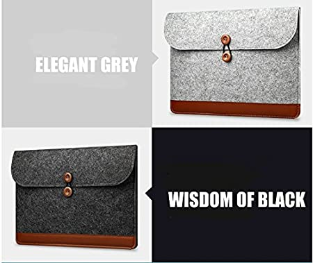 Black, 13inch ACPBAGS Fashion Laptop Sleeve 11inch,12inch,13inch,15inch Liner Sleeve Laptop Bag 4 Colors