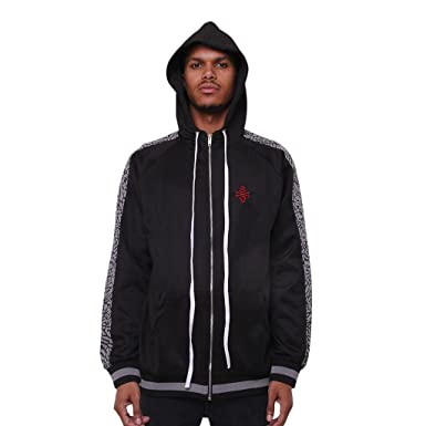 2292d863bdb Image Unavailable. Image not available for. Color: AME Jordan 3 Black Cement  Track Jacket ...