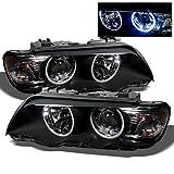 x5 bmw e53 - 2001 2002 2003 BMW E53 X5 CCFL Halo Projector Headlights Pair Driver + Passenger Replacement
